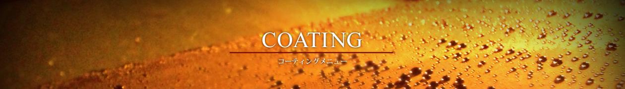 コーティングメニュー|熊本の車磨き・洗車の専門店|CarPolish匠